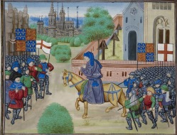Chroniques de France et d`Angleterre, Book II - caption: 'The Peasants' Revolt'