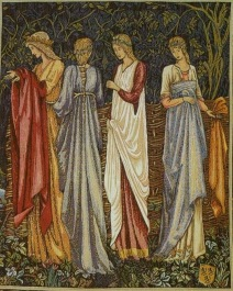 medieval women talking