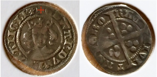Edward III penny York front and back