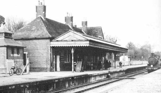 Starzina Z Railways Meon Valley Wickham Station 1955