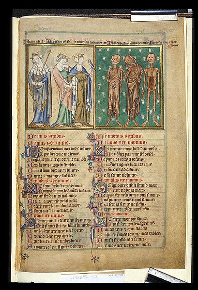 British-Library-Arundel-127_Le_trois_morts_et_les_trois_vifs